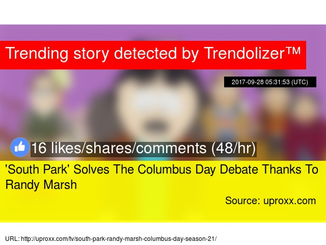 columbus day debate